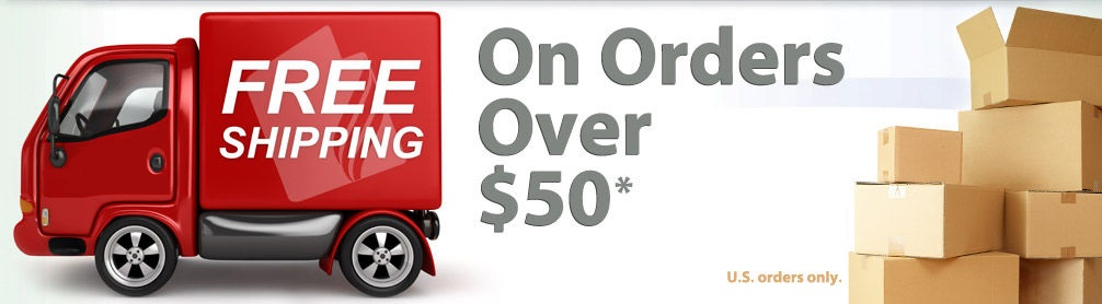 Free Ship over $50.00