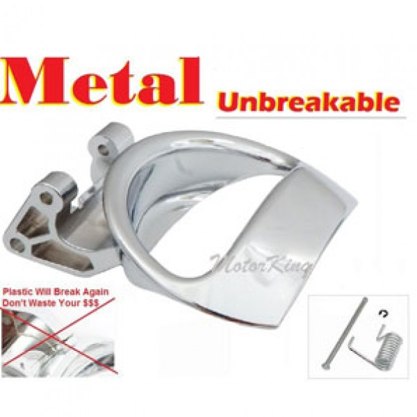 Metal Door Handle For Chevy Hhr Front Or Rear Lh Driver Inside