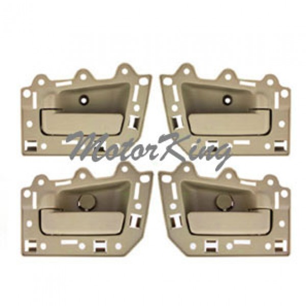 Inside Door Handle Beige Tan Set 4 Pcs Ds297 For 2005 2011 Jeep