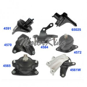 Engine Motor /& Trans Mount Set 7PCS 2008-2013 for Acura TSX 2.4L for Auto.