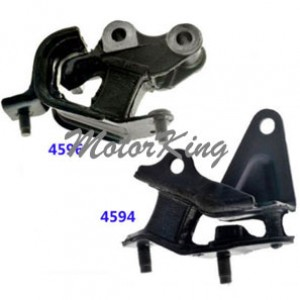 MotorKing Engine Mount 2PCS 4594 4596 M946 For 2003-2007 Honda Accord 2.4L