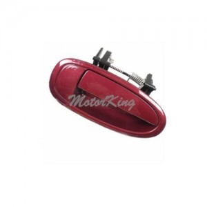 97-01 Toyota Camry Outside Red Ruby Pearl 3L3 Rear Left MotorKing B491 Door Handle