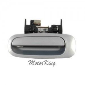 MotorKing B3872 Rear Left Outside Door Handle 1C4 Silverstream Opalescent (Fits for 98-02 Toyota Corolla)