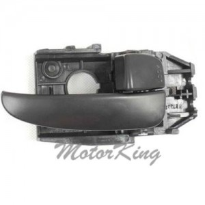 MotorKing B3990 Front/Rear Passenger Right Inside Door Handle Black (Fits for 2001-2006 For Hyundai Elantra)
