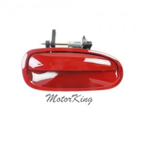 MotorKing B4062 Rear Right Outside Door Handle R81 Milano Red (Fits for 96-00 Honda Civic)