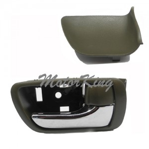 02-04 Toyota Camry Inside Door Handle DK. Chocolate/ Black Right #B555