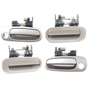 For 98-02 Corolla Prizm Outside Door Handle 3M5 Beige Front & Rear Set 4 DS139