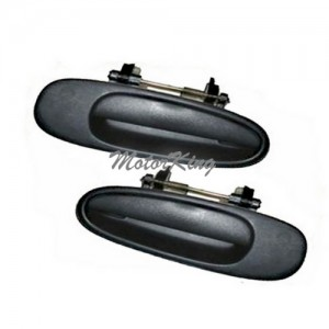 MotorKing DS35 Rear Outside Door Handles Non-Painted (Fits for 1993-1997 Toyota Corolla)