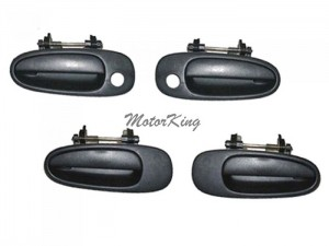 93-97 Toyota Corolla Geo Prizm Outside Door Handle Set 4 #DS40 6922012170 6921012170 6924012140 93 94 95 96 97
