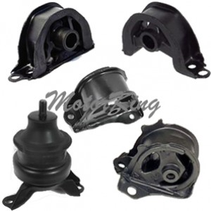 1997-2001 Honda CR-V 2.0L Engine & Trans Motor Mount Set 5pcs 6576 6585 6520 6506 6526 M532