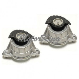 Mercedes C350 C250 C230 E350 C300 Engine Motor Mount Set 2pcs 2042400917*2 M627