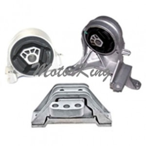 Chevrolet Equinox 3.4L Pontiac Torrent 3.4L Engine & Trans Motor Mount Set 3pcs 3069 3082 5324 M974