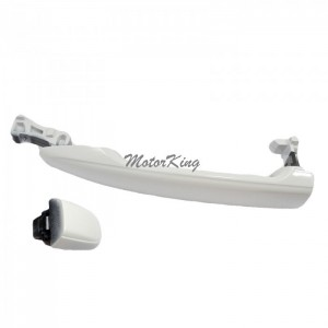 For Rear Left//Right 2004-2010 Sienna Blue Mirage Metallic 8R5 Outside Outer Door Handle W//O Keyhole 2004 2005 2006 2007 2008 2009 2010