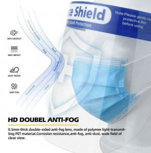Protective Isolation Face Shield x10pc