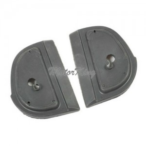 MotorKing B042P Rear Pair View Mirror Door Cap Seal (Fits for Mercedes-Benz W202 W210 Models)