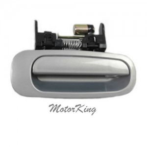 MotorKing B3873 Rear Right Outside Door Handle 1C4 Silverstream Opalescent (Fits for 98-02 Toyota Corolla)