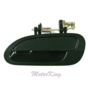 MotorKing B4142 Rear Driver Left Outside Door Handle Dark Green G87P (Fits for 1998-2002 Honda Accord)