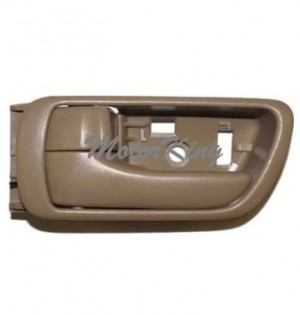 02-06 Toyota Camry Inside Door Handle Tan Left #B556