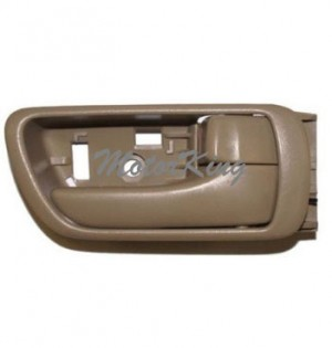 02-06 Toyota Camry Inside Door Handle Tan Right #B557