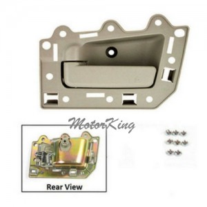 MotorKing BJ0009-NS Front Driver Left Inside Door Handle Beige (Fits for 2005-2011 Jeep Grand Cherokee)
