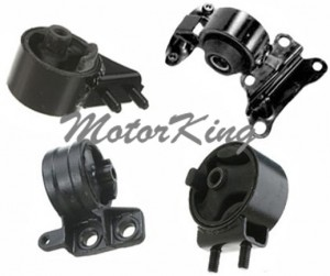 94-96 Mazda MX3 1.6L MT Trans Engine Motor Mount Set 4 2648 2650 2651 6432 M334