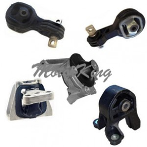 2007-2011 Honda CR-V 2.4L Engine & Trans Motor Mount Set 5pcs 4595 65010 4535 4536 4598 M626