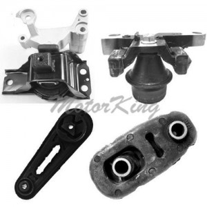 MotorKing M771 Engine Motor Mount 4PCS Set (Fits for 07-11 Nissan Sentra 2.0L)