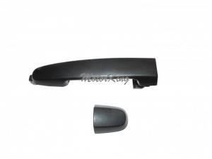 Rear Outside Door Handle W/O Keyhole For 2001-2013 Pontiac Scion Toyota Camry Corolla RAV4 tC xA xB Flint Mica 1E0