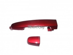Rear Outside Door Handle W/O Keyhole For 2001-2013 Pontiac Scion Toyota Camry Corolla RAV4 tC xA xB Dark Carmine 3M8