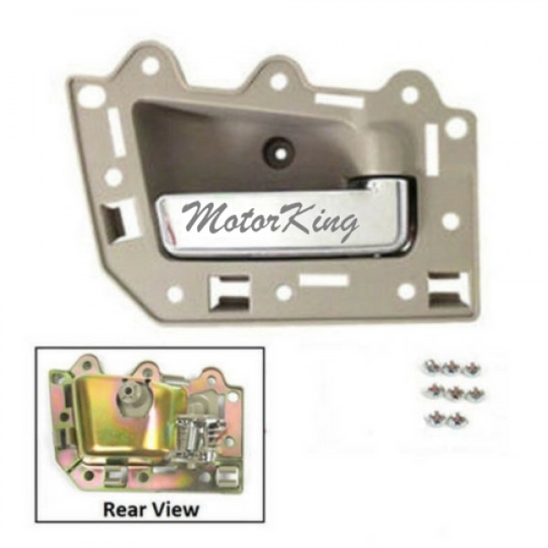 Motorking Bj0002 Ns Front Passenger Right Inside Door Handle Beige