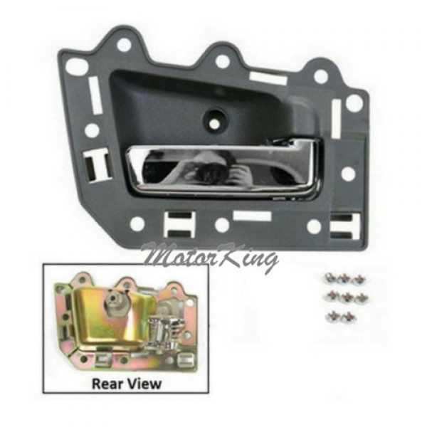 Motorking Bj0006 Ns Front Passenger Right Inside Door Handle Gray