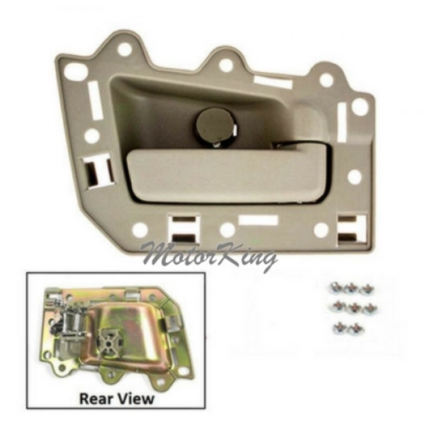 Motorking Bj0012 Ns Rear Passenger Right Inside Door Handle Beige