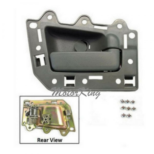 Motorking Bj0016 Ns Rear Passenger Right Inside Door Handle Gray