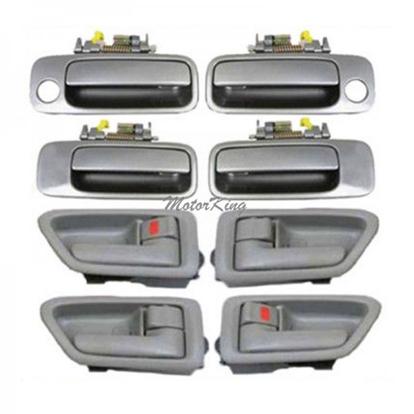 Ds08 For Toyota Camry Inner Sage Outer Gray 1b2 Door Handle Set 8pcs 97 01